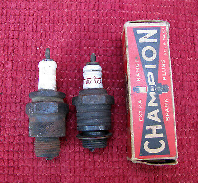 3 Bougies Anciennes / Voiture Ancienne Bougie Spark Plug