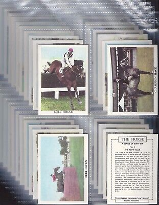 Anglo American-Full Set- The Horse (X66 Cards) - Exc+++