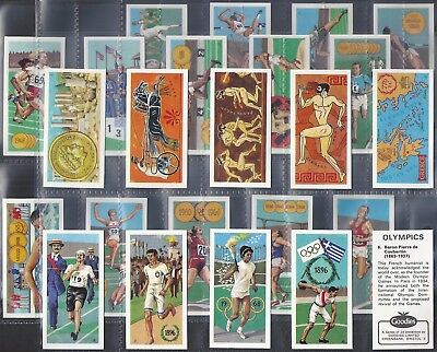 Goodies-Full Set- Olympics (24 Cards) - Exc+++