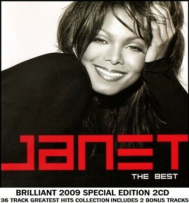 Janet Jackson - Very Best Essential Greatest Hits Collection RARE 2CD Pop R&B