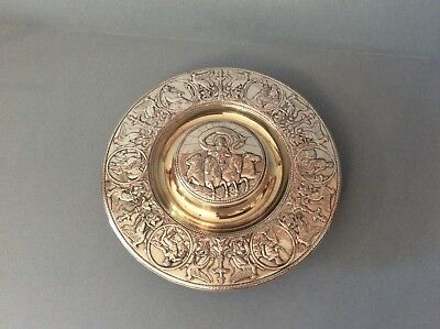 Stunning Antique Victorian Silver Plated Inkwell - Elkington