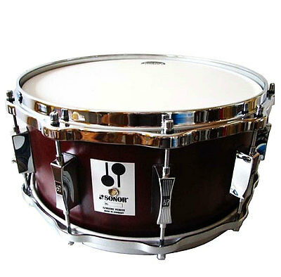 """Sonor D 516 Mr Phonic Re-Issue Snare Drum 14 """" x 6,5 """" Beech Shell"""