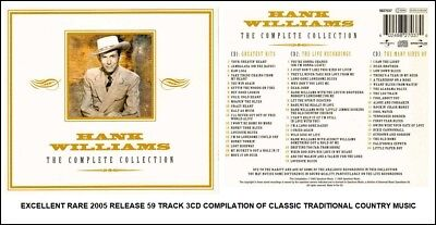 Hank Williams - Very Best Greatest Hits Collection - RARE 2005 Country Music 3CD