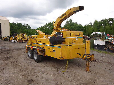 "Vermeer BC2000 20"" Wood Chipper RUNS MINT VIDEO! CUMMINS 6BTA BC-2000 RARE!!"