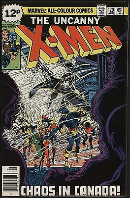 X-Men #120 Vindicator Appears! Vfn+ 8.5 White Pages John Byrne Art