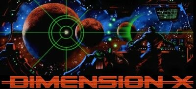 DIMENSION X - OLD TIME RADIO - 1 CD - 50 mp3 - Total Playtime: 23:59:10