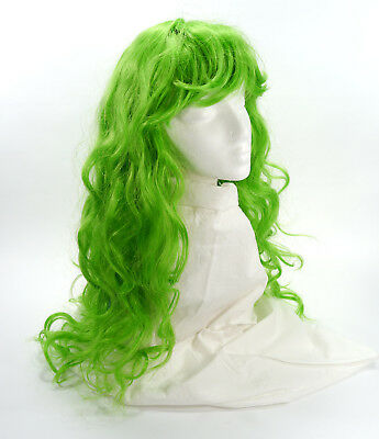 Enigma Deluxe Ashli Wig Lime Green - Halloween - One Size - Anime - Cosplay NOS