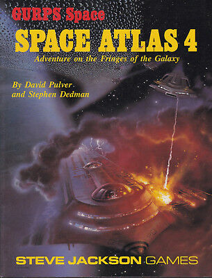 GURPS: Space Atlas 4. Adventure on the Frings of the Galaxy