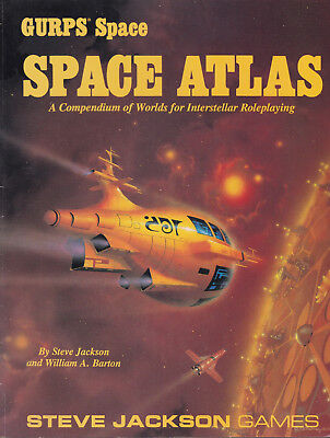 GURPS: Space Atlas. A Compendium of Worlds for Interstellar Roleplaying