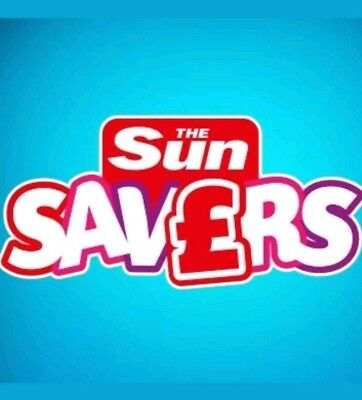 *Sun Savers code Saturday 2nd February collect on sun savers for CHESSINGTON