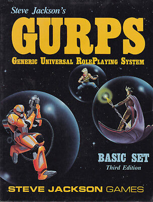 GURPS: Generic Universal RolePlaying System. Basic Set, Third Edition