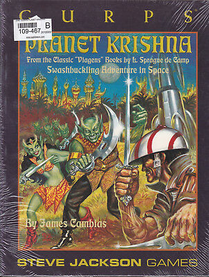 GURPS: Planet Krishna. Swashbuckling Adventures in Space