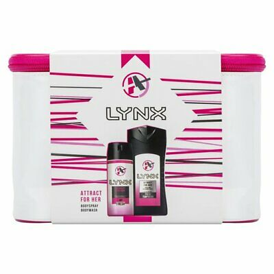 Lynx Attract For Her Washbag Gift Set - Christmas - Xmas Present