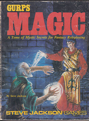 GURPS: Magic. A Tome of Mystic Secrets for Fantasy Roleplaying