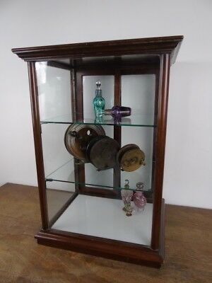 Victorian Cadbury's Chocolate Shop Counter Top Display Glass Cabinet