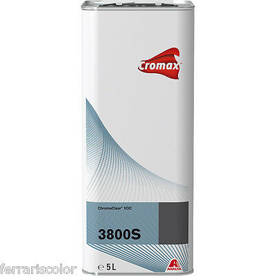 Clear S3800 Cromax Dupont 2K 3800 S for paint car painting refinish Axalta 5 lt