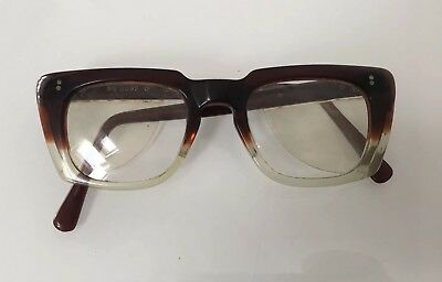 Vintage Retro Spectacles Eyeglasses with Side Protectors