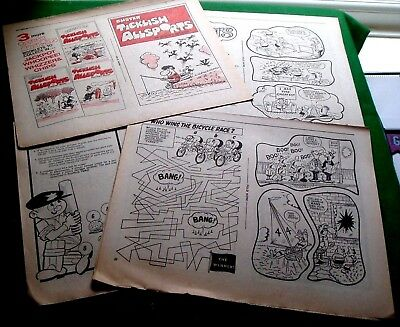 Buster Free Mini Book Ticklish Allsports Complete Removed From Comics Unfolded