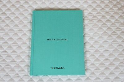 Tiffany & Co Catalog THIS IS TIFFANY RING Hard Cover Wedding Blue Book New