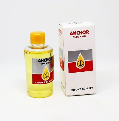Anchor Quality Clock Oil 30ml Bottle - Ideal for Lubricating Clocks