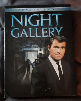 Night Gallery - The Complete Second Season (DVD, 2008, 5-Disc Set)