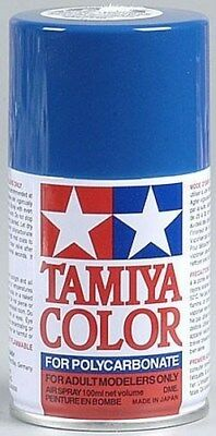 Tamiya PS-4 Blue Polycarbonate/Lexan Body Spray Paint 100ml TAM86004