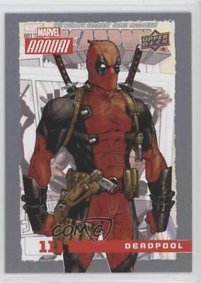 2016 Upper Deck Marvel Annual #111 SP Deadpool Non-Sports Card 1md
