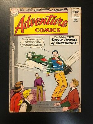 Adventure Comics 266 (1959, DC) First Aquagirl VG