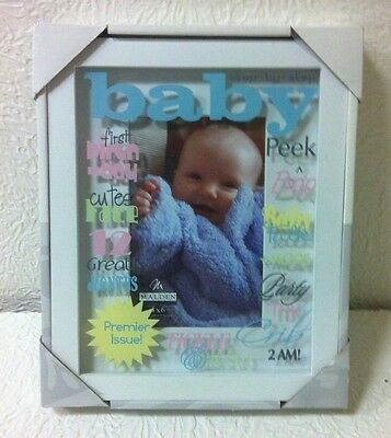 Adorable Malden Baby's First 4X6 Tabletop Picture Frame Nib