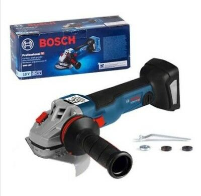 New Bosch GWS18V-100C Cordless Angle Grinder Only Body - EMS Free Shipping