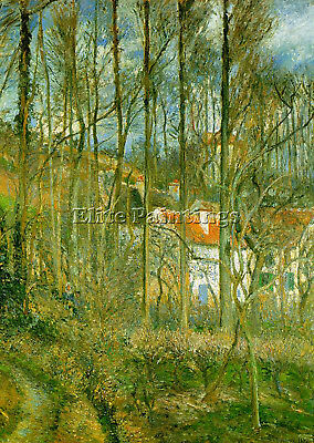 Pissarro13 Artist Painting Reproduction Handmade Oil Canvas Repro Wall Art Deco