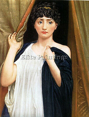 Cressida  Artist Painting Reproduction Handmade Oil Canvas Repro Wall Art Deco