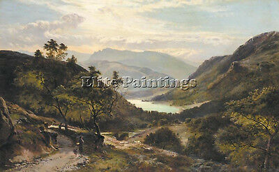 Percy Sidney Richard Scottish Highlands Artist Painting Oil Canvas Repro Art