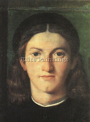 Head Of A Young Man  Artist Painting Reproduction Handmade Oil Canvas Repro Deco