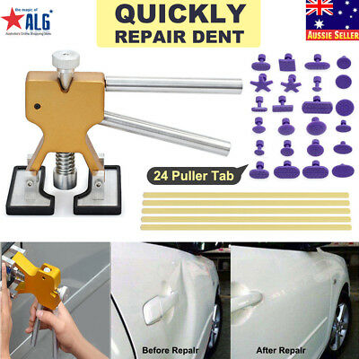 Car paintless Dent Repair Puller Glue Hammer Removal Body Hail Lifter Tool Kit