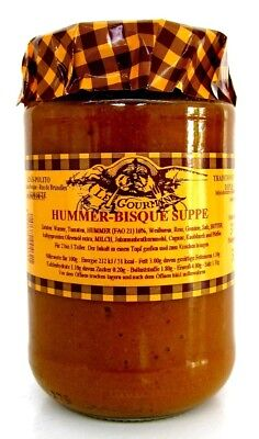 Le Gourmand, Hummer Bisque Suppe, Hummersuppe, 320g