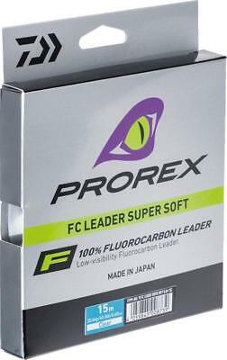 Daiwa Prorex PX FC Fluorocarbon Leader *All Diameters* NEW Lure Fishing Leader