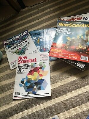 new scientist magazine 2014-2015 Collection Of 28