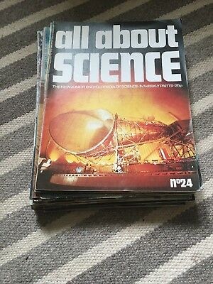 All About Science Magazines Vintage Collection Of 28 From Years 1973-1974.