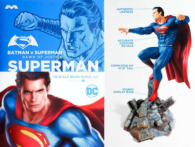 Superman Batman V Superman Dawn Of Justice 1:8 Resin Model Kit Moebius 1014