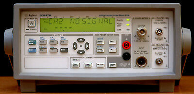 Agilent 53147A Microwave Counter / Power Meter / DVM, 20 GHz