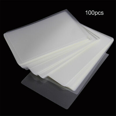 100 Letter Thermal Laminating Pouches Sheets Thick A4 Letter Size Pockets