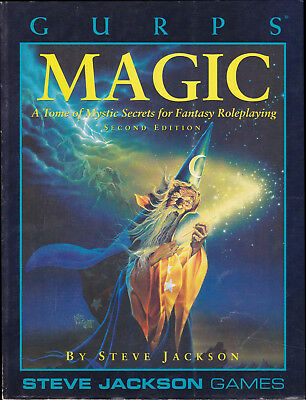 GURPS: Magic. A Tome of  Mystic Secrets for Fantasy Roleplaying. Second Edition