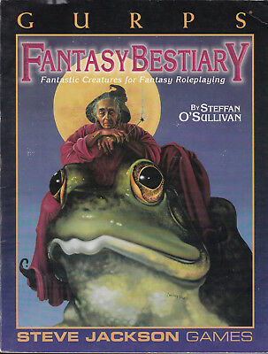 GURPS Fantasy Bestiary. Fantastic Creatures for Fantasy Roleplaying