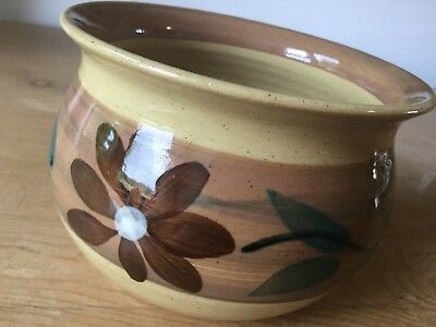 Holkham Pottery Cyril Ruffles Planter In Vgc