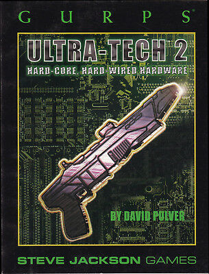 GURPS Ultra-Tech 2. Hard-Core, Hard-Wired Hardware