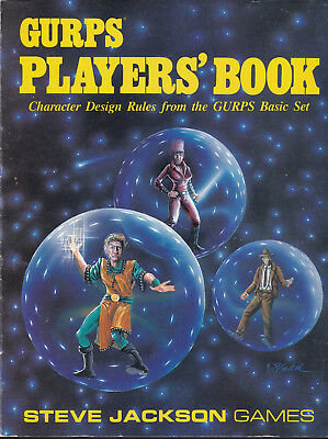GURPS Player's Book. Character Design Rules from the GURPS Basic Set