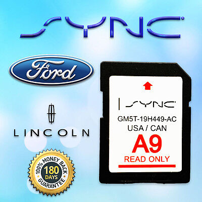 Latest A9 2019 2018 Navigation Sd Card Sync Fits All Ford Lincoln Updates A8 A7