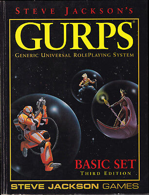 GURPS Generic Universal RolePlaying System. Basic Set. Third Edition
