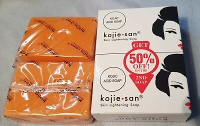 100% Genuine Kojie San Kojic Acid Skin Lightening Whitening Body Face Soap .Uk